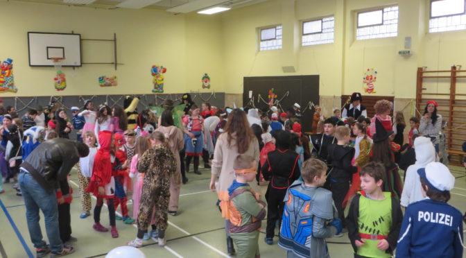 Die Karnevalsfeier in der Lindenschule